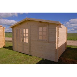 outdoor living today sunflower playhouse with 3 functional window and