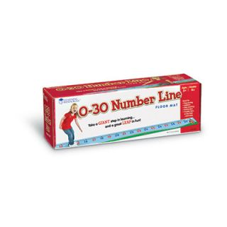 Learning Resources 0 30 Number Line Floor Mat