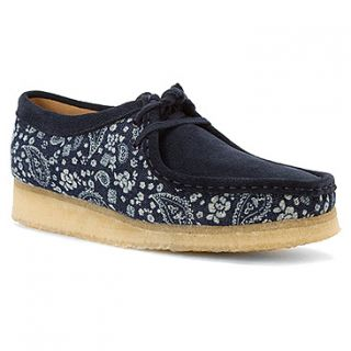 Clarks Wallabee  Women's   Blue Paisley Combi