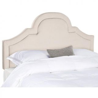 Safavieh Kerstin Arched Linen Headboard   King   7834405