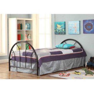 Sierra Metal Twin Bed with Mattress