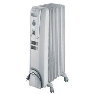DeLonghi Safeheat 1500 Watt Basic Oil Filled Radiant Portable Heater TRH0715
