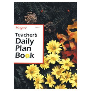Teachers Daily Lesson Planner by Hayes School Publishing