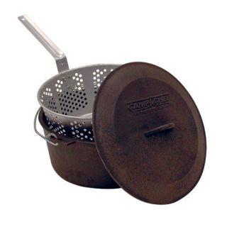 Camp Chef 7 Qt. Seasoned Cast Iron Pot Set