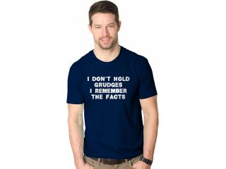 I Don't Hold Grudges T Shirt Funny Relationship Shirt Attitude Tee S