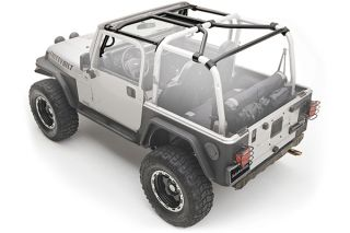 2007, 2008, 2009 Jeep Wrangler Roll Cages & Accessories   Smittybilt 76901   Smittybilt SRC Roll Cage Kits