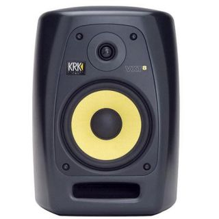 "VXT8 NA KRK KRK VXT8 8"" Studio Monitor, 37Hz   22kHz Frequency Response, 10kOhms Input Impedance, 120V Power, 1"" Silk Dome Tweeter"