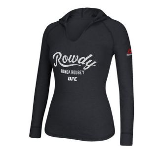 Ronda Rousey UFC 193 Reebok Womens Rowdy Established   Heather Black