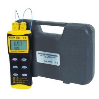General Tools Digital Dual Input Themocouple Thermometer DT8852
