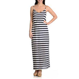Chelsea & Theodore Womens printed popover maxi dress