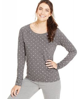 Jenni by Jennifer Moore Long Sleeve Pajama Top, Only at   Bras