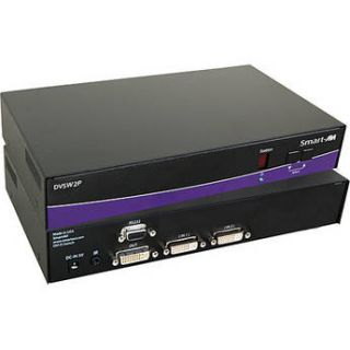Smart AVI DVI D 2 port Switch with RS 232 Control & DV SW2S