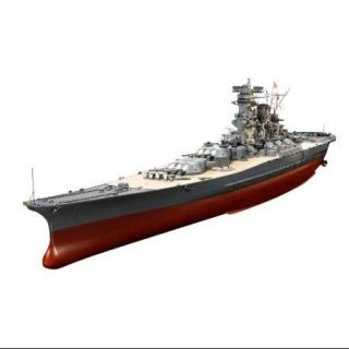 78025 1/350 Japanese Battleship Yamato Multi Colored