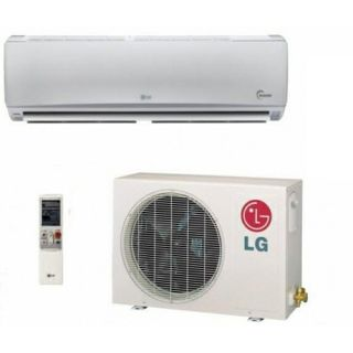 LG LS240HSV 24,000 BTU Single Zone Ductless Mini Split Air Conditioner with Heat Pump Inverter   High Efficiency