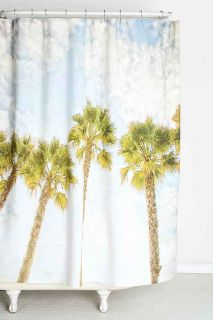 Shannon Clark For DENY Palm Tree Shower Curtain