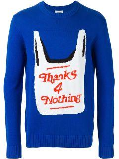 Christopher Shannon Shopping Bag Sweater