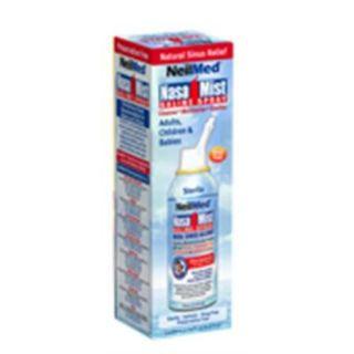 Nasamist Saline Spray Isotonic 75 ml (Pack of 3)
