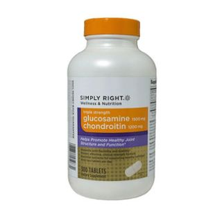 Simply Right Triple Strength Glucosamine & Chondroitin (300 ct.)