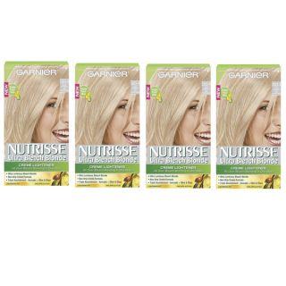 Garnier Nutrisse Ultra Bleach Blonde Hair Lightening Kit (Pack of 4
