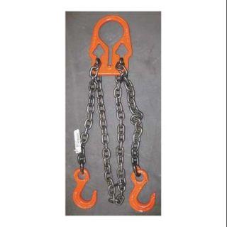 DAYTON 4PGW4 Chain Sling,G80,Adj Link,Aly Stl,10 ft L