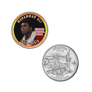 5 piece Colorized Muhammad Ali State Quarter Collection   8185339