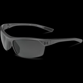 82fdc54faa Under Armour Zone 2.0 Storm ANSI Sunglasses Satin Carbon Frame with Gray  Lens