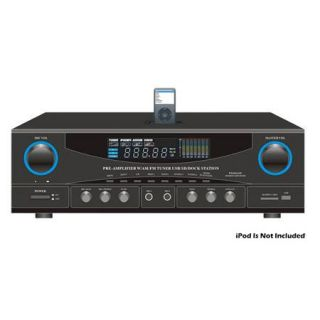 Pyle 500 Watts Stereo Receiver AM FM Tuner PT4601AIU