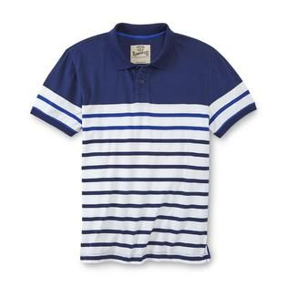 Roebuck & Co. Young Mens Polo Shirt   Striped   Clothing, Shoes