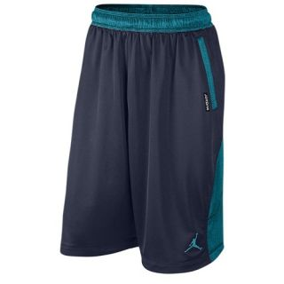 Jordan Retro 13 Shorts   Mens   Basketball   Clothing   Midnight Navy/Turquoise Blue