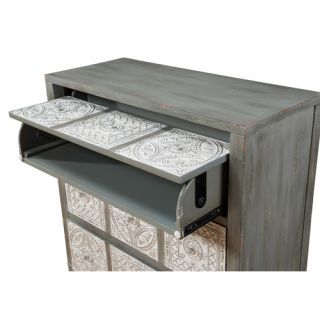 Lodge Dusty Miller Media Chest by Gails Accents