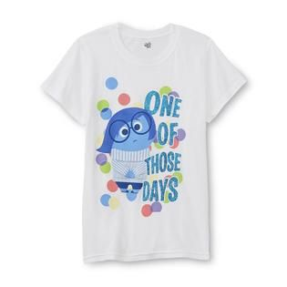 Disney Inside Out Girls Graphic T Shirt   Sadness