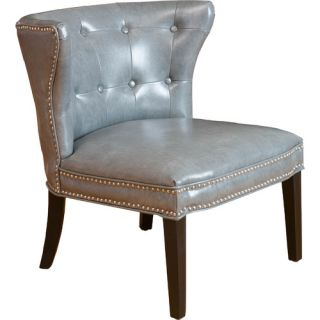 Home Loft Concepts Theodore Leather Side Chair