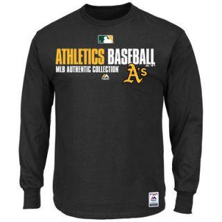 Majestic Oakland Athletics Mens AC Team Favorite T Shirt   Black