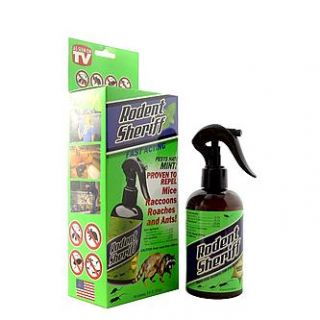 As Seen On TV Rodent Sheriff   8 oz.   Outdoor Living   Pest Control