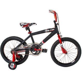 "18"" Next Surge Boys' BMX Bike, Black/Red"