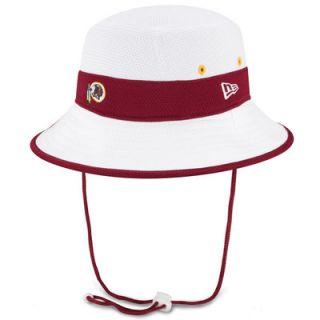 Washington Redskins New Era On Field Training Camp Bucket Hat   White