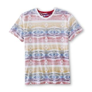 Roebuck & Co. Young Mens Graphic T Shirt   Tribal Print   Clothing