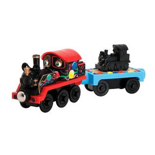 Tomy Chuggington Wooden Railway Old Puffer Pete with 150th Anniversary