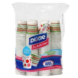 Dixie   Bath Cup, 3 oz.   600 Cups