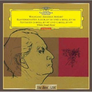 Mozart: Klaviersonaten A dur, KV 331 und A moll, KV 310; Fantasien D