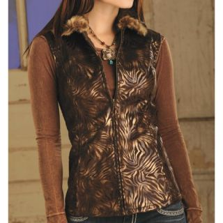 Powder River Outfitters Bayonne Suede Vest (For Women) 5251M 40