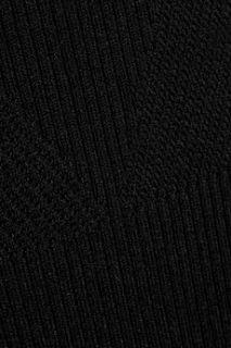 Keren ribbed knit wool maxi skirt  Maje