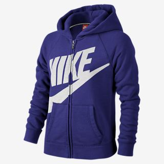 Sudadera con capucha para niña Nike Rally Full Zip (MX)
