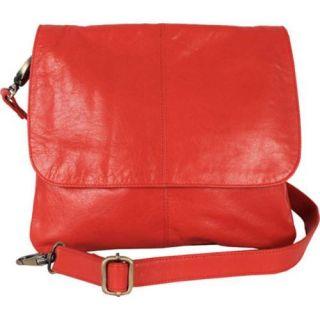 Womens Latico Jamie Cross Body/Shoulder Bag 7991 Caribe Leather