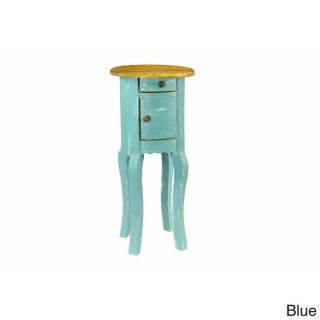 Theodore European Style Distressed Side Table  ™ Shopping