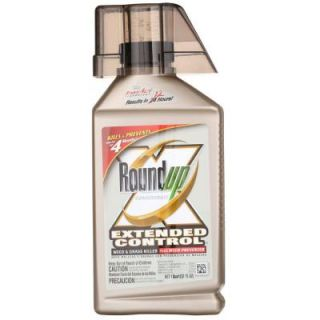 Roundup 32 oz. Concentrate Extended Control Weed and Grass Killer Plus Weed Preventer 5705010