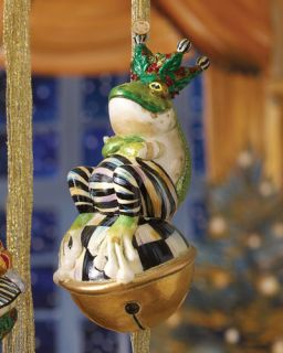 MacKenzie Childs Mr. Jingles Christmas Ornament