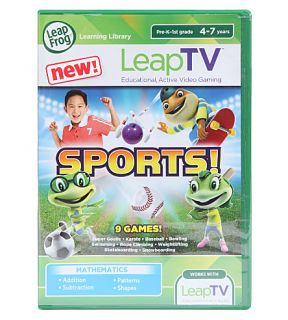 LEAP FROG   LeapTV Sports game