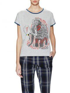 Mammouth Graphic Print T Shirt by Paul & Joe Sister