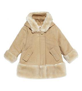 CHLOE   Faux fur hooded coat 3 36 months